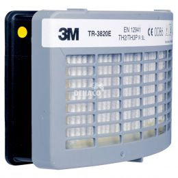 3M Filter TR-3822E tegen stof/hinderlijke geuren van zure gassen/ HF voor TR-300