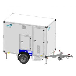mobiele decontaminatie units