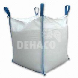 Big-Bag 90x90x115 cm blanc sans jupe