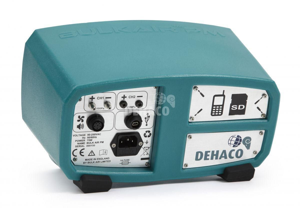 bulk air negative pressure monitor 1 channel