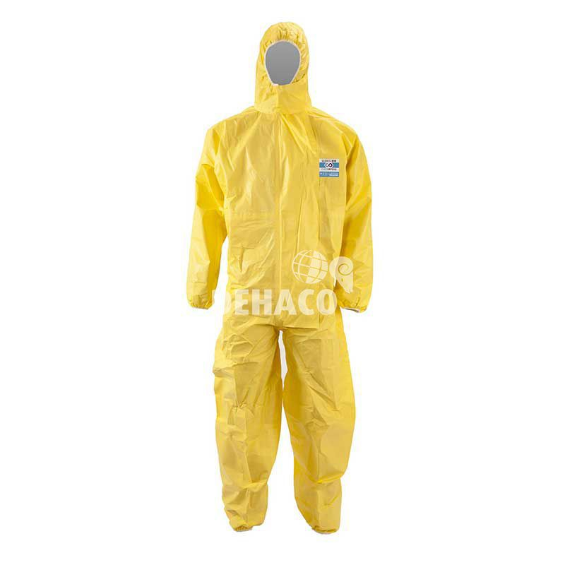 chemdefend 310 model 001 disposable category 3 type 345 xxl yellow