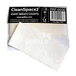 CleanSpace particulate pre-filter per 10 stuks