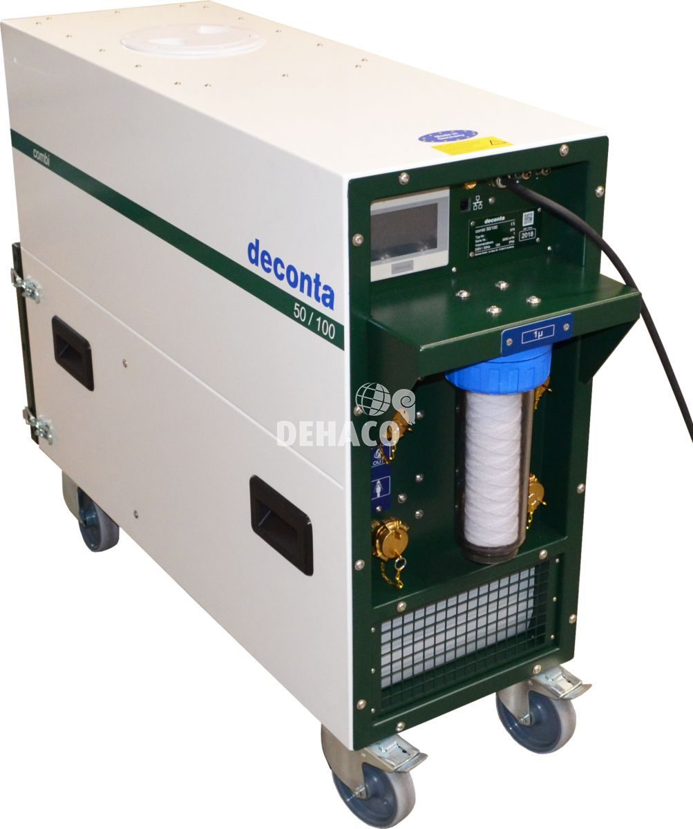 combi 10050 combined negative pressure unit and water management
