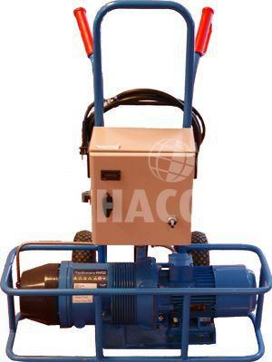 compair hydrovane hv02 zweiteiliger kompressor mit lufttrockner