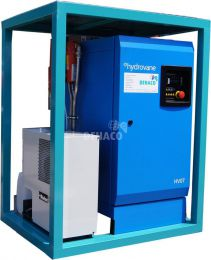 Compair Hydrovane HV07 compressor with air dryer