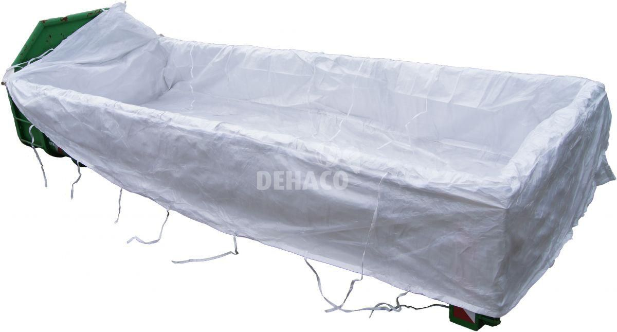 container bag 620x240x115 cm with alogo and 2 x liner