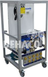 Deconta C100L gestion des eaux avec chauffe-eau (tuyau exclusif)