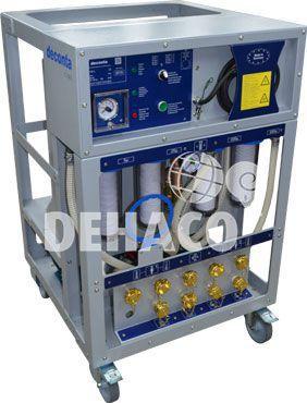deconta c130l watermanagement met twee douches en koudwarm water exclusief slangen