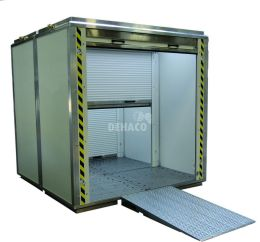 Deconta Classic 2000 material decontamination chamber excl. ramps
