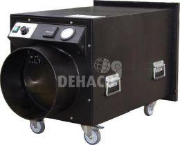 DEH2000 Unterdruckhaltegerät, 1-teilig, Ausblasöffnung auf der Rückseite