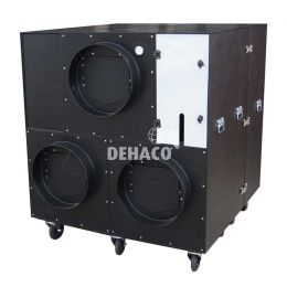 DEH30000 negative pressure unit, 2-piece, rear discharge