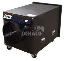 DEH5000 Unterdruckhaltegerät, 1-teilig, Ausblasöffnung auf der Rückseite