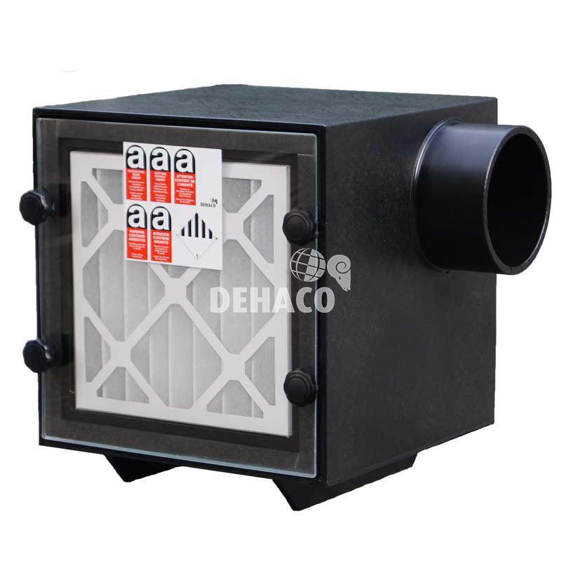 deh750 unterdruckhaltegert 1teilig ausblasffnung auf der seite