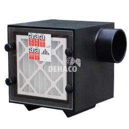 DEH750 Unterdruckhaltegerät, 1-teilig, Ausblasöffnung auf der Seite