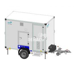 Dehaco C3000A Hybrid met 3 compartimenten