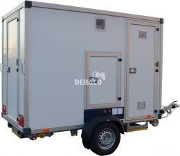 Dehaco C4000A Hybrid met 3 compartimenten