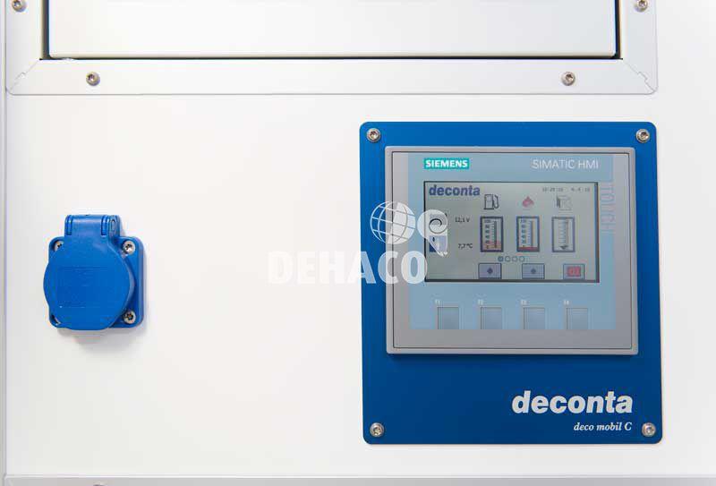 dehaco c4000e connect met 3 of 4 compartimenten