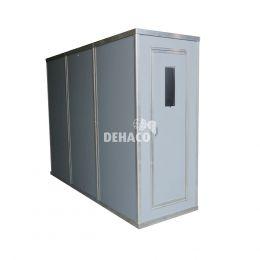 Dehaco panelendouche met 3 compartimenten 100 x 100 cm