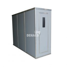 Dehaco Personnel lock system 3 stages, 89 x 89 cm per cabin