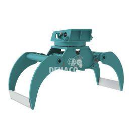 DHG1202-R pince à bois hydraulique avec rotation 17 - 28 ton