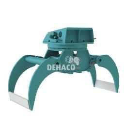 DHG1900-R Hydraulische houtgrijper met rotatie 25 - 38 ton