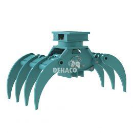 DHG450-7T-R Hydraulische houtgrijper 7-tands met rotatie 5 - 8 ton