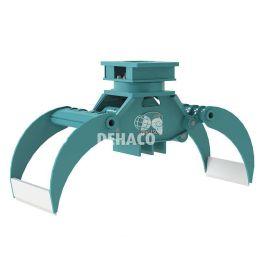 DHG450-R Hydraulische houtgrijper met rotatie 5 - 8 ton