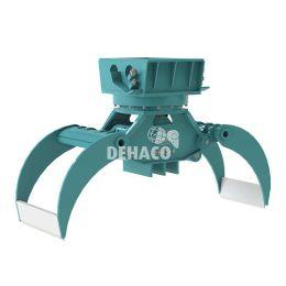 DHG452-R pince à bois hydraulique avec rotation 6 - 11 ton