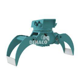 DHG602-R Hydraulische houtgrijper met rotatie 10 - 16 ton