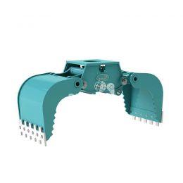 DMG1202-F hydraulische multigrijper zonder rotatie 17 - 28 ton