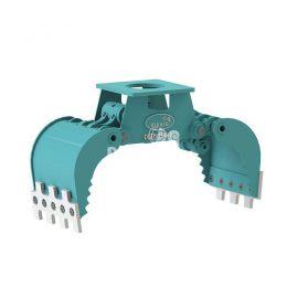 DMG150-F hydraulische multigrijper zonder rotatie 1,5 - 3 ton