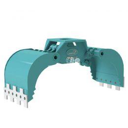 DMG450-F hydraulische multigrijper zonder rotatie 5 - 8 ton