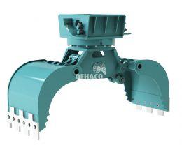 DMG452-R hydraulische multigrijper 6 - 11 ton