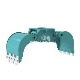 DMG603-F hydraulische multigrijper zonder rotatie 10 - 16 ton