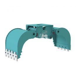DMG803-F hydraulische multigrijper zonder rotatie 12 - 20 ton