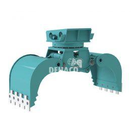 DMG803-R hydraulische multigrijper 12 - 20 ton