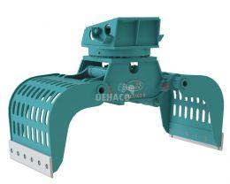 DSG1102-R Sloop- en sorteergrijper met rotatie 16 - 25 ton