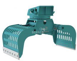 DSG1202-R Sloop- en sorteergrijper met rotatie 17 - 28 ton