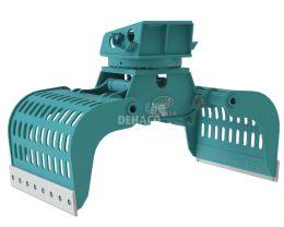 DSG1402-R Grappin hydraulique 20 - 28 ton