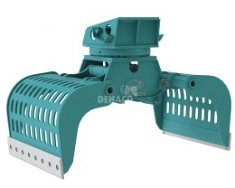 DSG1402-R Sloop- en sorteergrijper met rotatie 20 - 28 ton