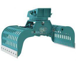 DSG1702-R Sloop- en sorteergrijper met rotatie 23 - 30 ton
