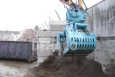 dsg1802r abbruch und sortiergreifer 24 35 ton