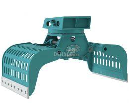 DSG1802-R Sloop- en sorteergrijper met rotatie 24 - 35 ton