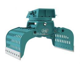 DSG2500-R Sloop- en sorteergrijper met rotatie 28 - 40 ton