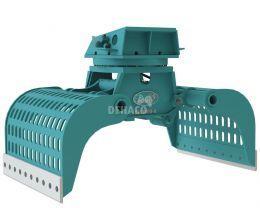 DSG3000-R Sloop- en sorteergrijper met rotatie 30 - 50 ton
