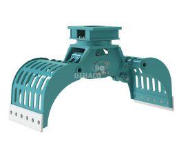 DSG400-R Sloop- en sorteergrijper met rotatie 4 - 6 ton