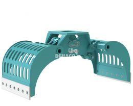 DSG450-F Sloop- en sorteergrijper zonder rotatie 4 - 6 ton
