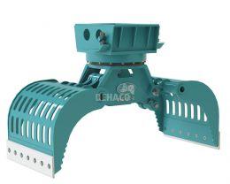 DSG452-R Sloop- en sorteergrijper met rotatie 6 - 11 ton
