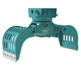 DSG502-R Sloop- en sorteergrijper met rotatie 7 - 12 ton
