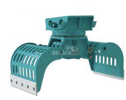 DSG603-R Sloop- en sorteergrijper met rotatie 10 - 16 ton